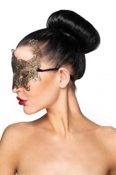 Золотистая карнавальная маска  Ахернар