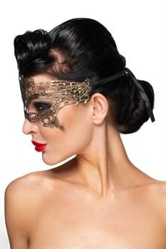 Золотистая карнавальная маска  Канопус