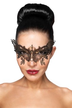 {{photo.Alt || photo.Description || 'Золотистая карнавальная маска  Спика '}}