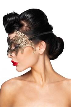 Золотистая карнавальная маска  Унукэльхайя