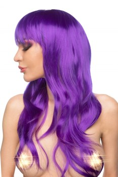 Фиолетовый парик  Азэми