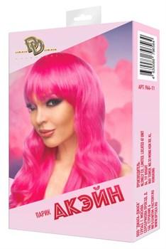 Ярко-розовый парик  Акэйн