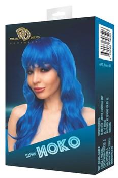 Синий парик  Иоко