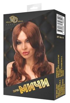 Коричневый парик  Мичи