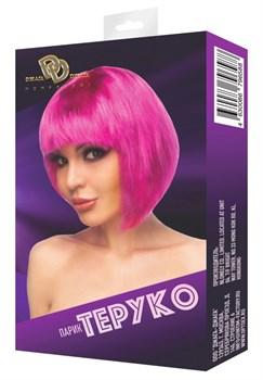 Ярко-розовый парик  Теруко