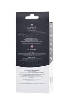Черная анальная цепочка Aquilae - 18 см.
