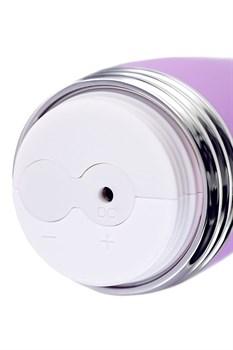 Фиолетовый вибратор Lantana - 22 см.