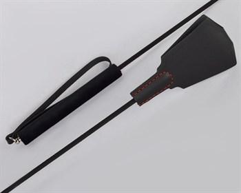 Черный классический стек-лопатка  Готика  - 77 см.