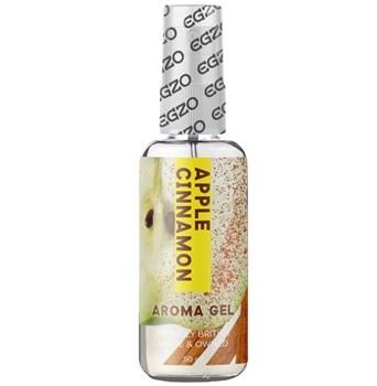 Интимный лубрикант Egzo Aroma с ароматом яблока и корицы - 50 мл.