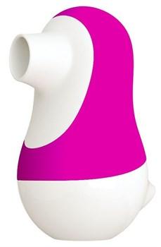 Розовый клиторальный стимулятор Pinguino