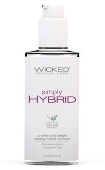 Водно-силиконовый лубрикант Wicked Simply HYBRID - 70 мл.