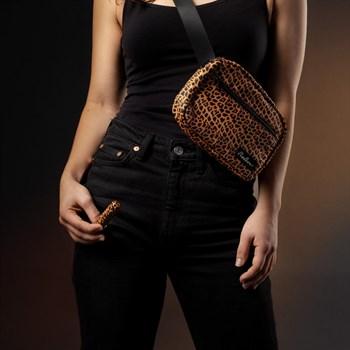 Леопардовая вибропуля Nayo Bullet Vibrator - 9 см.