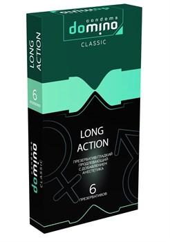Презервативы с пролонгирующим эффектом DOMINO Classic Long action - 6 шт.