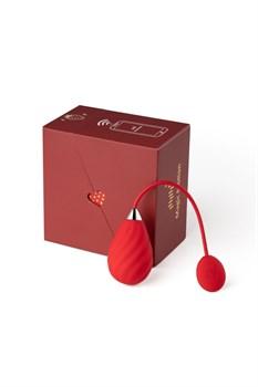 Красное виброяйцо Magic Motion Sundae