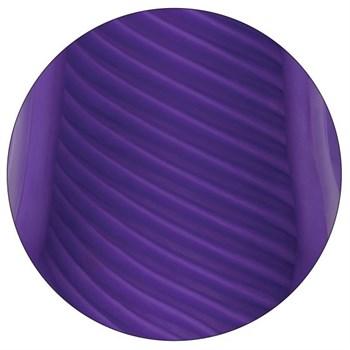 Фиолетовый рельефный мастурбатор Spiral Grip