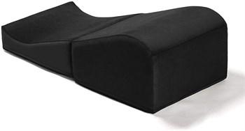 Черная большая вельветовая подушка для любви Liberator Retail Flip Ramp