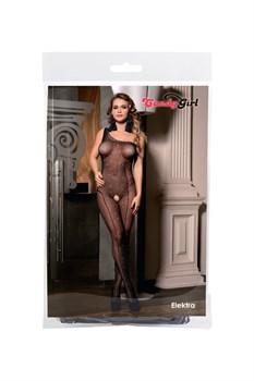 Пикантный костюм-сетка со стразами Elektra