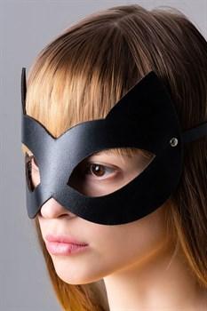 Оригинальная черная маска  Кошка