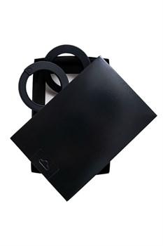 Черные силиконовые наручники  Штучки-дрючки