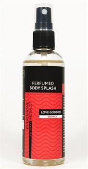 Парфюмированный спрей с феромонами Love Goddess - 100 мл.