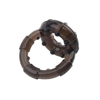 Дымчатое двойное эрекционное кольцо Dual Enhancement Ring
