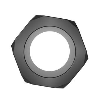 Черное эрекционное кольцо-шестигранник Nust Bolts Cock Ring