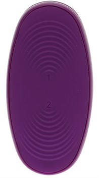 Фиолетовый вибростимулятор Bendable Multi Erogenous Zone Massager with Remote