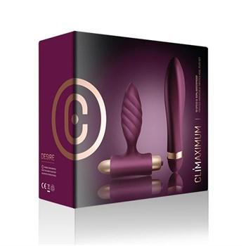 Фиолетовый вибронабор Climaximum Desire