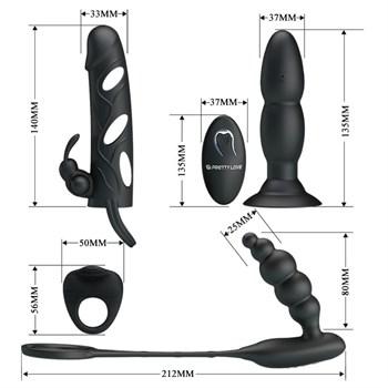 Стильный набор секс-игрушек Master Hunter