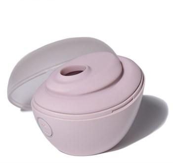 Нежно-розовый вакуумный стимулятор Baci Premium Robotic Clitoral Massager