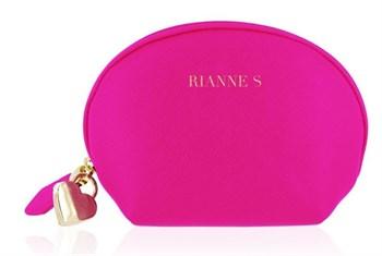 Ярко-розовый вибратор с ушками Bunny Bliss - 11 см.