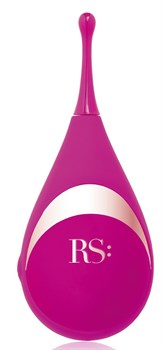 Ярко-розовый клиторальный стимулятор Femsation - 12,6 см.