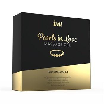 Массажный интимный гель Pearls in Love Massage Gel - 15 мл.