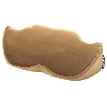 Подушка для любви Mustache Wedge из бронзовой микрофибры