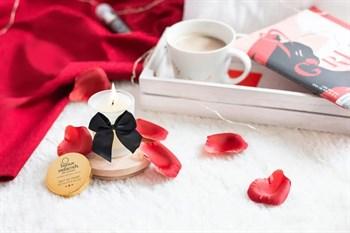 Массажная свеча Melt My Heart с ароматом карамели - 70 мл.