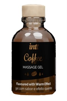 Массажный гель с согревающим эффектом Coffee - 30 мл.