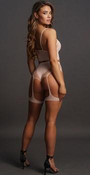 Эротический комплект Bra Set With Garters