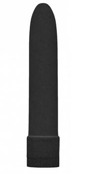 Черный вибратор 5.5  Vibrator Biodegradable - 14 см.