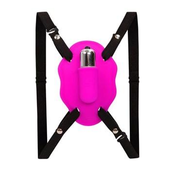 Нежный вибростимулятор для клитора Love Rider на ремешках