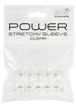 Прозрачная рельефная насадка POWER STRETCHY