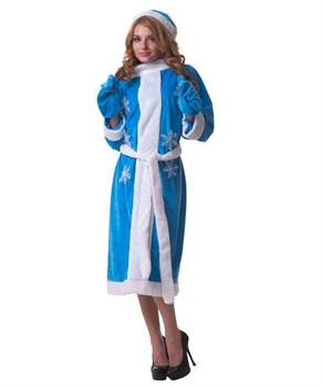 Голубой костюм Снегурочки