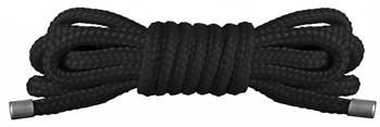 Чёрная нейлоновая верёвка для бандажа Japanese Mini