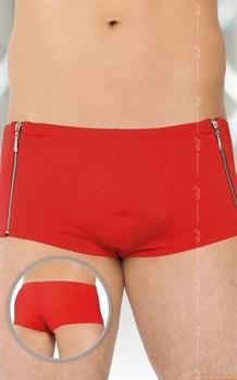 Мужские трусы-шорты с замками по бокам