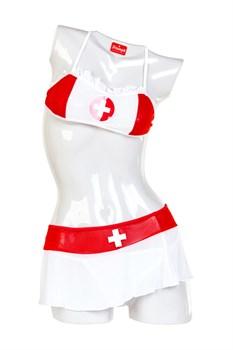 Надувная кукла-медсестра NURSE EMILIA с реалистичной головой