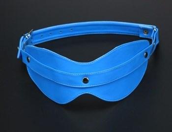Голубая маска на глаза