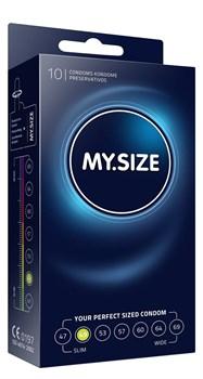 Презервативы MY.SIZE размер 49 - 10 шт.