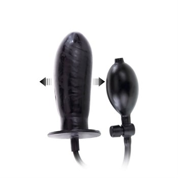 Расширяющийся анальный фаллоимитатор - 15,5 см.