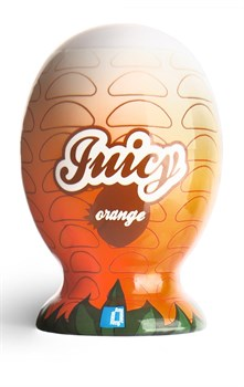 Мини-мастурбатор в форме апельсина Juicy Mini Masturbator Orange