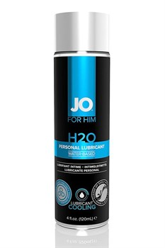Мужской охлаждающий лубрикант на водной основе JO for Men H2O Cooling - 120 мл.