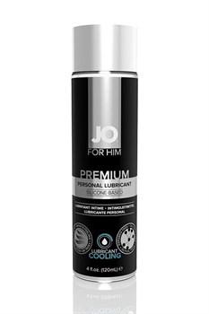 Мужской охлаждающий силиконовый лубрикант JO for Men Premium Cooling - 120 мл.
